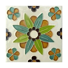 Portuguese Floral Pattern Ceramic Tiles