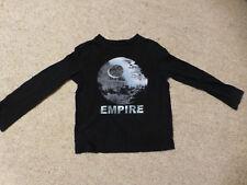 GAP kids T-Shirt schwarz Star Wars Todesstern gr 104/110 (xs 4-5 Jahre)