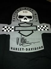 Willie Harley-Davidson Signature 2015 Daytona Bike Week T-Shirt Size L - Black