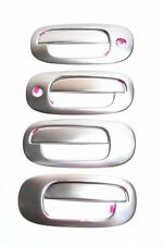 DODGE DAKOTA 97-04/DURANGO 98-03 4DR TFP BRUSHED STAINLESS DOOR HANDLE COVER-2KH