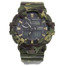 New Casio G-Shock GA700CM-3A Super Illuminator Ana-Digital 3D Green Camo Watch