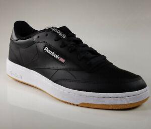 Reebok AR0458 Club C85 Summer Sneaker Herren Footwear Black Schuh