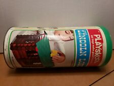 PLAYSKOOL LINCOLN LOGS Scout 1974 Vintage Pioneer Set with instruction case only