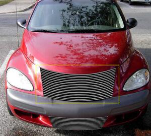 Fits 2000-2005 Chrysler PT Cruiser Billet Grille Grill Insert