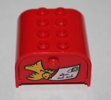 Lego Mickey Mouse Red Container Mailbox 4x4+porte ref 33326pb01/set 4167 4165