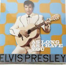 ELVIS PRESLEY ASLONG AS I HAVE YOU LP 33 GIRI 180 GR EDITORIALE NUOVO SIGILLATO