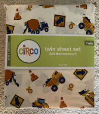 Circo Build It Collection Construction Twin Sheet Set New