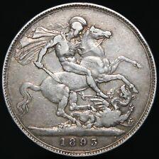 1893 | Victoria Crown 'LVII' | Silver | Coins | KM Coins