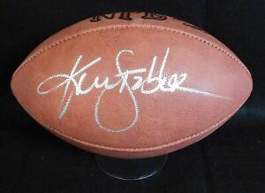 Ken Stabler Signed Wilson Official NFL Blemish Football PSA/DNA Authenticated
