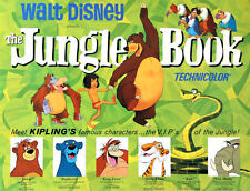 "Jungle Book ( 11"" x 14.5"" ) Movie Collector's Poster Print - B2G1F"