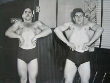 Vintage Bodybuilders Photo....10x8 in....1940s...Musclemen   # 3