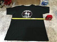 RARE VINTAGE CONCERT TEE 2006 Meds Tour With Cities Black T-Shirt Size Medium