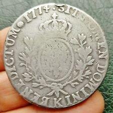 Louis XV - Ecu à la vieille Tête - 1774 K  Bordeaux