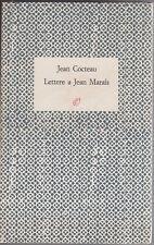 Cocteau, Lettere a Jean Marais, Rosellina Archinto, critica letteraria, 1988