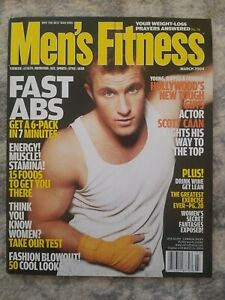 Men's Fitness Magazine March 2004 Scott Caan Cover