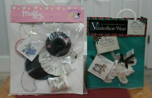 """VanderBear Wear """"The Muffy Collection"""" 2 Outfits  New Never Been Opened"""