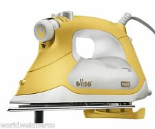 Oliso Yellow TG1600 1800 Watts Quilters Smart Steam Iron Pro iTouch Technology