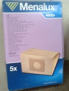 MENALUX VACUUM CLEANER BAGS - FOR LG / SOLAC   - (R1-2)