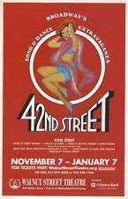 "Flyer  ""42nd Street""   2006    Philadelphia   Walnut Street Theatre"