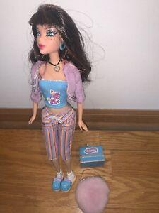 2007 Barbie My Scene PJ Party Delancey Doll Brunette Hair Rare