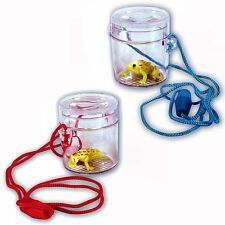 30 Mini Insect Bug Viewers with Toy Frogs - Ideal Spring Summer Children's Toys