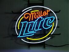 "New Miller Lite Shop Open Beer Bar Neon Light Sign 24""x20"""