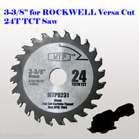 3-3/8 inch Carbide Circular Saw Blade for ROCKWELL VersaCut RK3440K  RK7004 4.0