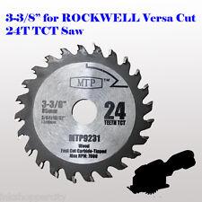 3-3/8-inch Carbide  Circular Saw Blade for ROCKWELL VersaCut RK3440K  RK7004