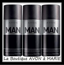 3 X MAN Déodorant deo Spray Pour homme de chez AVON