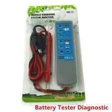 12V Car Battery Alternator Tester Automotive Battery Tester Charging System tool