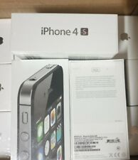 Brand new factory sealed & unlocked Apple iPhone 4s 8GB Black RARE never opened!
