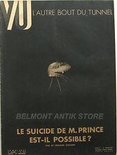 Magazine VU n°322 - Brigitte Helm - La Fayette - Hitler arme Chimie de Guerre