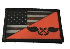 Navy Red Shirt Boatswain's Mate Morale Patch Tactical Military Army Flag USA