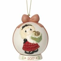 Precious Moments Dated 2017 Ball Ornament May The Gift of Love Be 171003*NIB*
