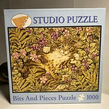 "Jan Benz 'Garden of Delights' 1000 Piece Jigsaw Puzzle 20""x27"" Bits & Pieces USA"