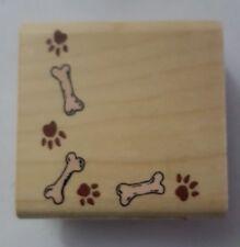 Inkadinkado Dog Paws and Bones Stamp