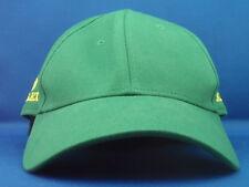 Genuine ROLEX WATCHES Bright Green & GOLD Golf Tennis Baseball Cap Hat Nuovo di Zecca