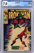 Marvel Comics Iron Man #5 CGC 7.0 Archie Goodwin Johnny Craig George Tuska 1968