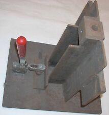 Industrial Metal Steel Jig 9 x 12 Platform w DE-STA-CO 207-U Vertical Clamp 375