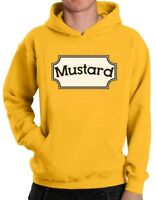 Mustard Hoodie Matching Couple Ketchup For Valentine's Day Halloween Pullover