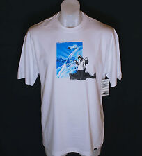 Neuf - Authentique Homme Oakley Hall T-Shirt Ss M Ski Snowboard Blanc