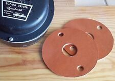 "ALTEC 1"" Leather Gasket 2 Joints Cuir pro quality symbiotik 807 2 hole 7,62 axis"