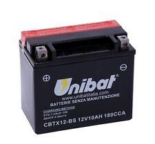 BATTERIA MOTO SCOOTER CBTX12-BS UNIBAT 10AH PER KYMCO X Citing 300 08 +ACIDO