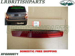 GENUINE LAND ROVER THIRD BRAKE STOP LAMP RANGE ROVER SPORT 05-09 NEW XFG000071