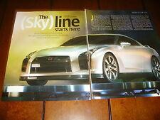 2008 NISSAN SKYLINE GT-R   ***ORIGINAL 2005 ARTICLE***