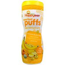 Nurture Inc. (Happy Baby), Organics, Superfood Puffs, Veggie, Fruit & Grain, Ban
