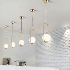 Modern Pendant Light Kitchen Gold Ceiling Lights Bedroom Bar Chandelier Lighting