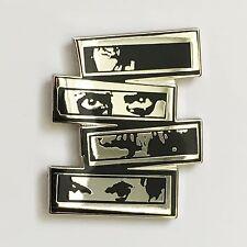 3 HITS FROM HELL Silver Enamel Pin misfits samhain danzig punk horror goth