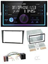JVC aux 2din USB mp3 Bluetooth autoradio para Opel Combo C Corsa C Tigra meriva 0