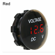 DC 12V-24V LED Panel Digital Voltage Volt Meter Display Voltmeter FOR Motorcycle